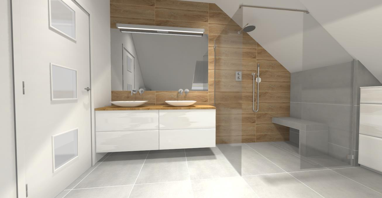 Wizualizacja łazienki w Impero