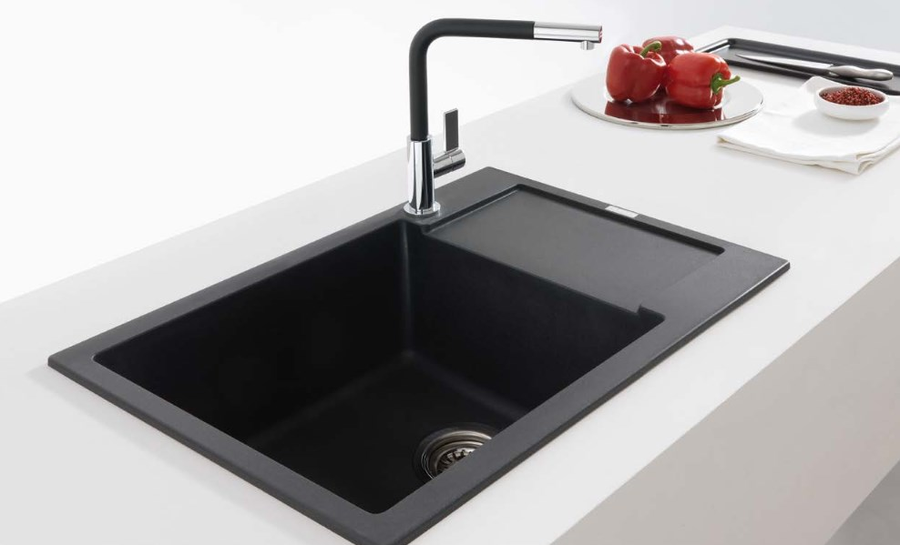 Images Of Kitchens With Black Sinks